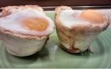 Huevos con espinacas
