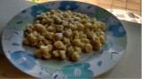 Pasta con salsa de cabrales