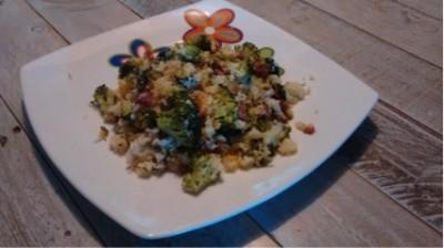 Cous-cous con brocoli