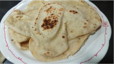 Pan para fajitas (receta de pan indio o pan naan)